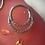 Thumbnail: Double Diamanté Septum/Daith Ring