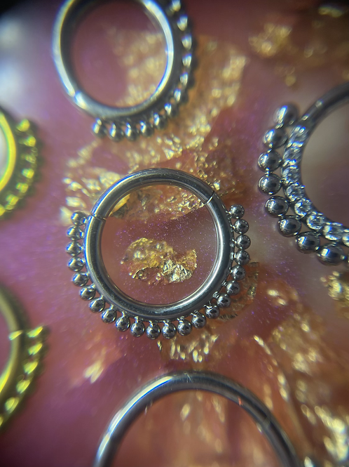 Hinge Septum/Daith Rings
