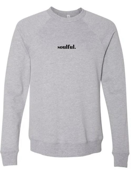 SOULFUL crew neck (grey)
