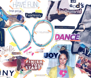 How to make a vision board.