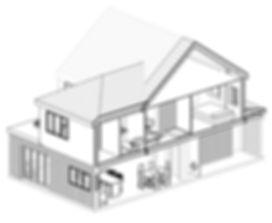 3D House Extension