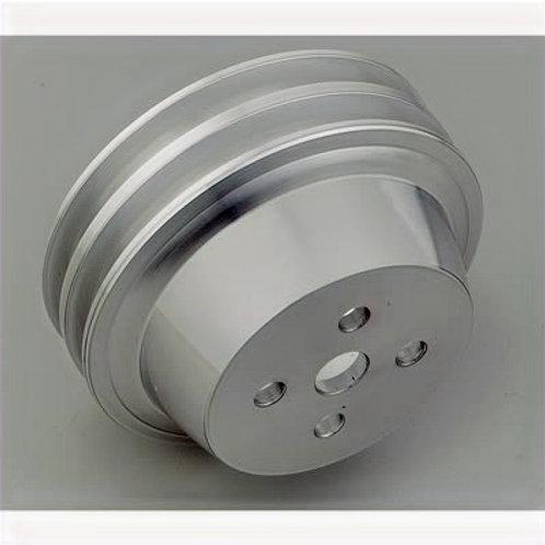 March Performance Aluminum V-Belt Water Pump Pulleys