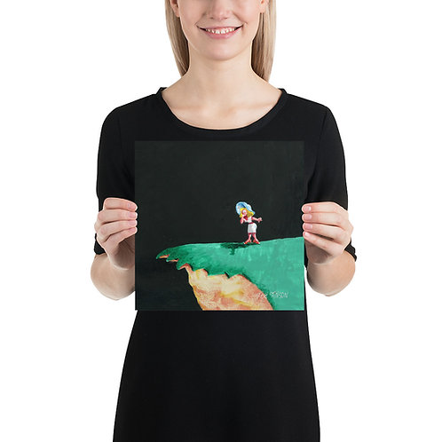 LOVER'S LEAP 10x10 Print