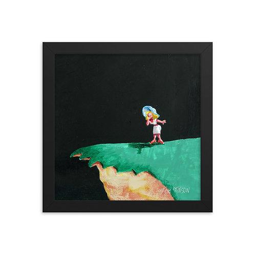 Lover's Leap 10x10 Framed poster
