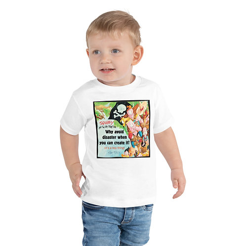 Squiffy & the Vine Street Boys – Toddler Short Sleeve Tee