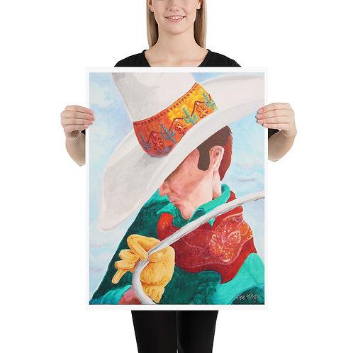 The Roper's Hat – 18x24 Print