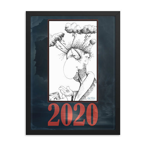 2020 Hangover – 18x24  Framed poster