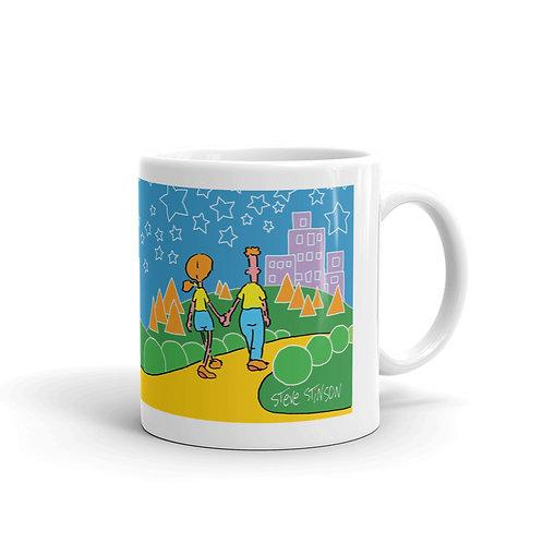 Square Heart Mug
