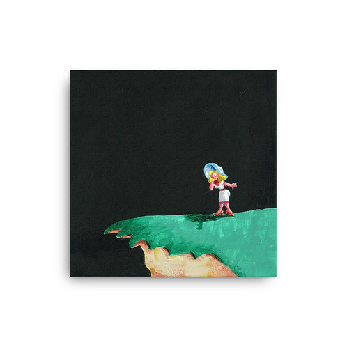 LOVERS LEAP - WOMAN Canvas
