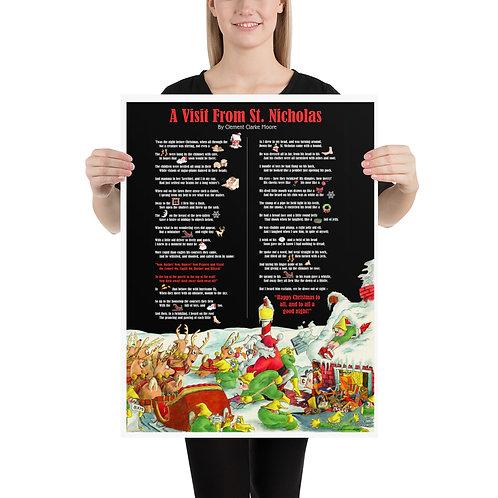 Interactive Night Before Christmas – 18x24 Print