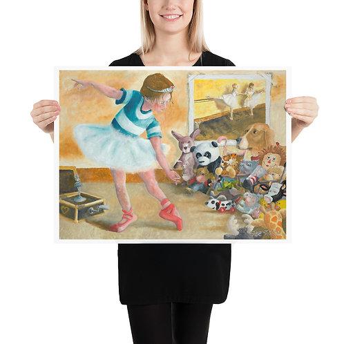 Pavane for a Princess – 24x18 Print