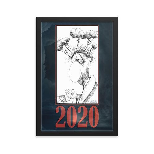 2020 Hangover – 12x18 framed poster