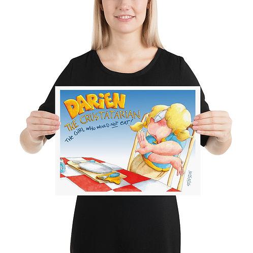 Darien Won't Eat! – 16x12 Poster