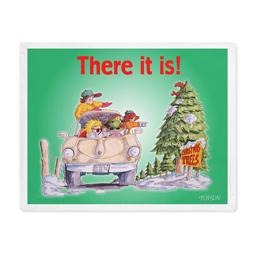 Finding the Christmas Tree - Placemat