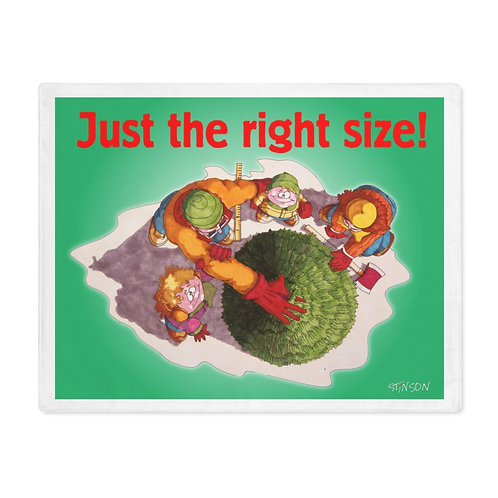 Measuring the Christmas Tree - Placemat