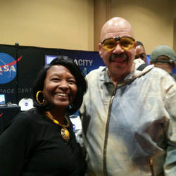 Dr. Clark & Tom Joyner