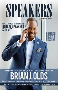 Speakers Magazine cover