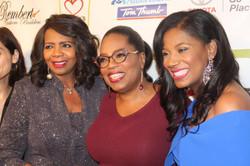 Faith Johnson and Oprah