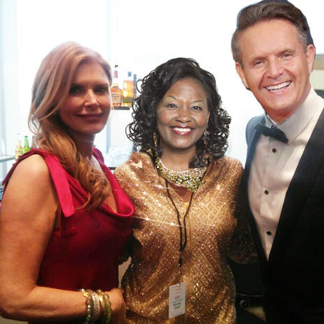Roma Downey, Mark Burnett & Dr. Clark