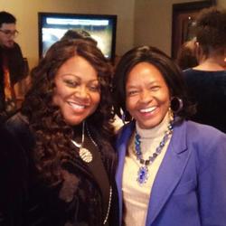 Shirley Murdock & Dr. Clark
