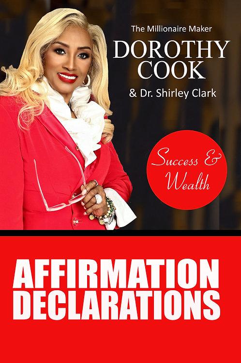 Success & Wealth Affirmation Declarations