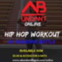 hiphop online workout flier.png