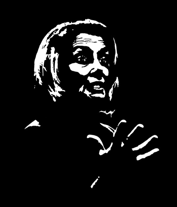 Nancy Pelosi - Black and White