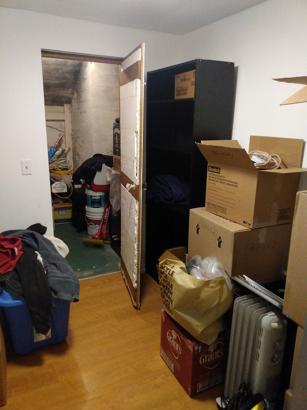 I'm going to pack the hell out of that storage room