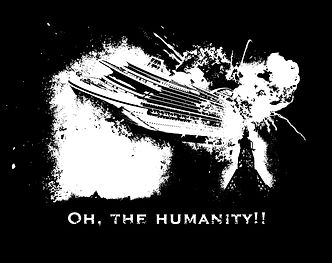 Hindenburg Cruise Ship Disaster - Oh, the humanity!!