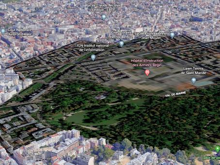 Zones of Exclusion - Pixelated Rendering Blast Areas in Paris
