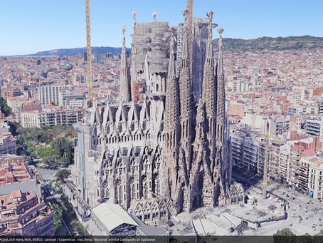 Human Shadow Residue Soils the Feet of the Sagrada Familia