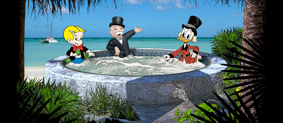 3 Globalists in a Hot Tub