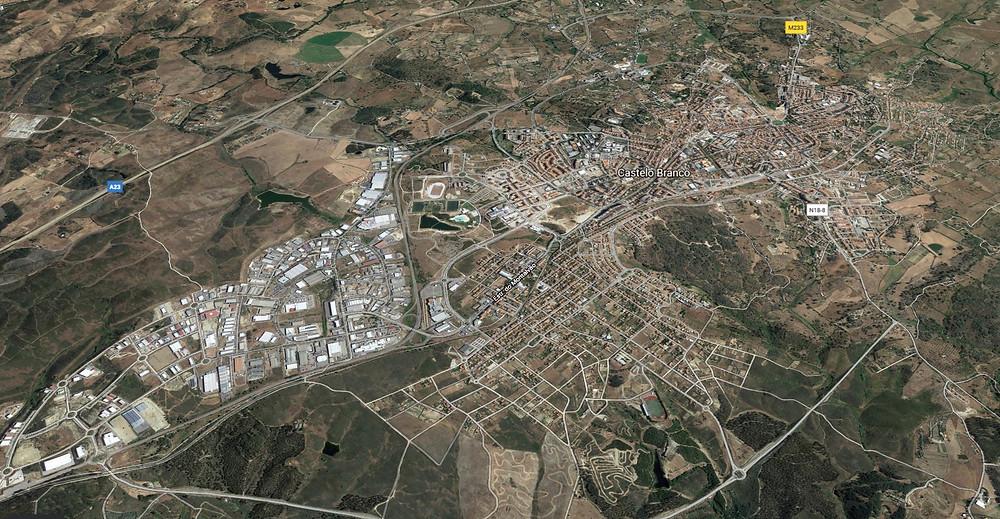 Castelo Branco - the City