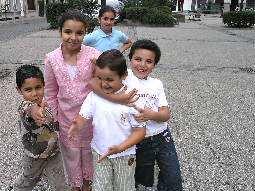 Antwerp, Belgium - Possibly the most adorable group of children ever