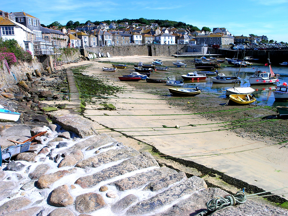 Mousehole, England - The ridiculously picturesque harbour. Turn up the twee to twelve!