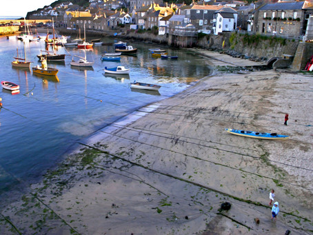 Mousehole, Cornwall - Fun at Low Tide