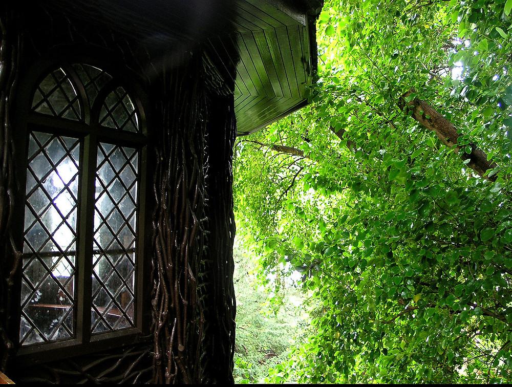 Bavarian garden hut on the grounds of Brodick Castle