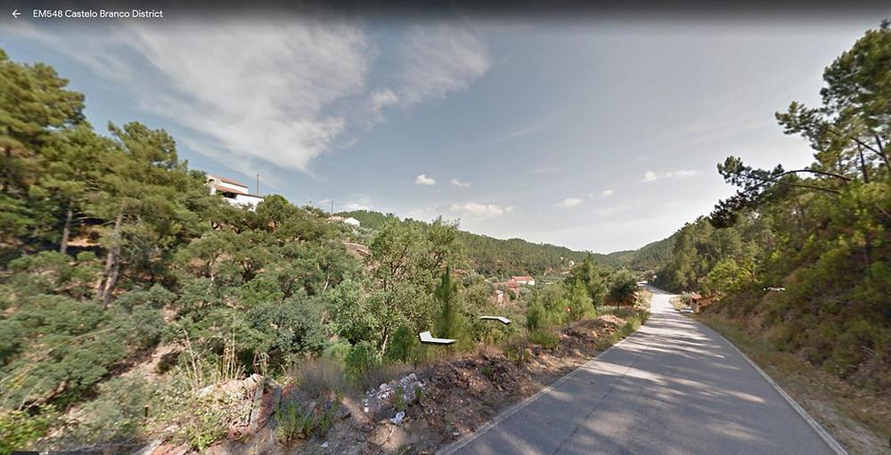 Pé da Serra - village amidst the tree farms