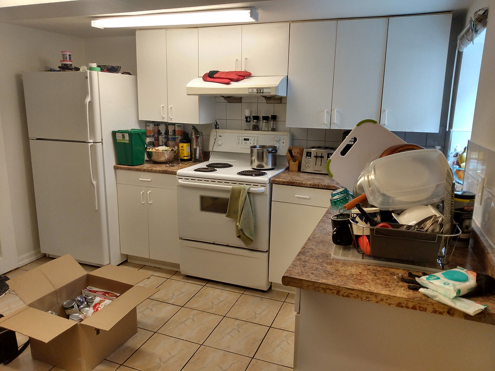 The kitchen, getting there