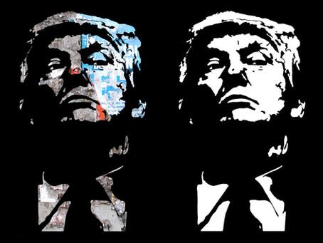 Trump - Torn Posters / Queen Elizabeth II - Balmoral Tartan