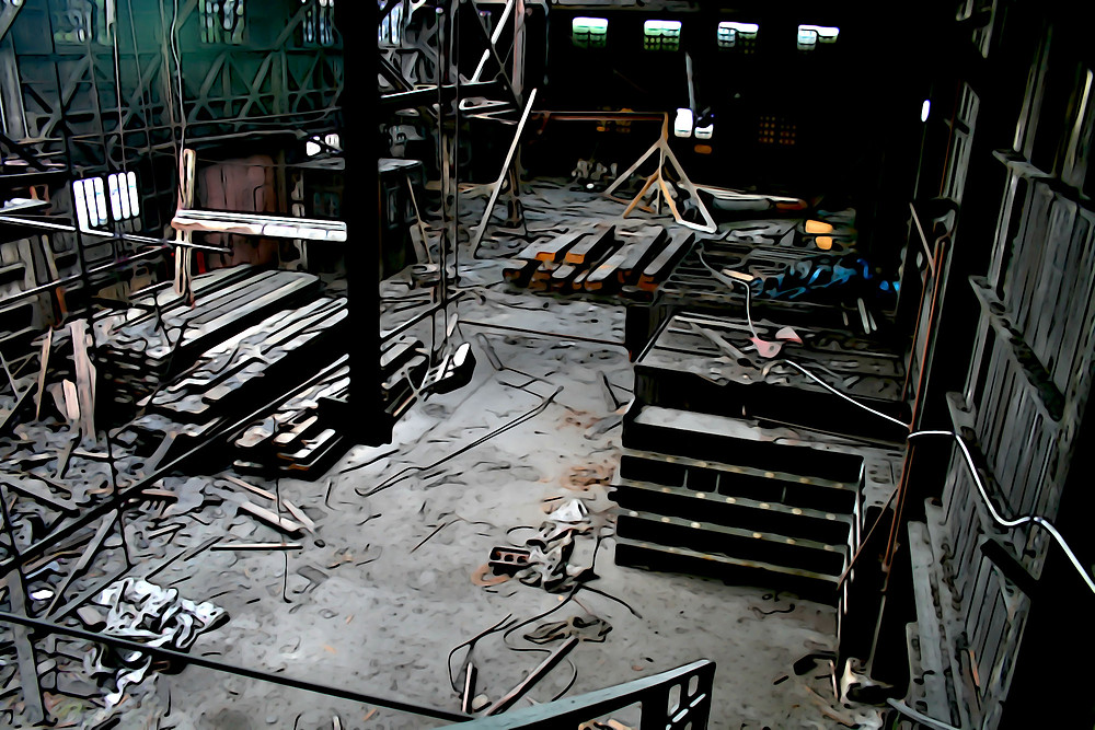 A little solo urban exploration inside the Opsal, abandoned steel factory and piece of Vancouver's industrial history