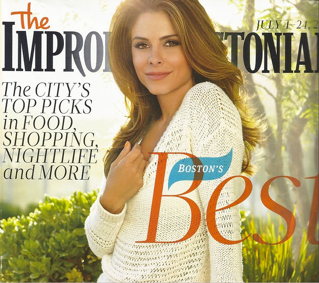 Improper Bostonian Magazine Boston's Best Acupuncture Winner 2012
