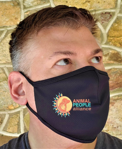 Animal People Alliance Face Mask