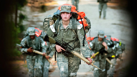 Meet the women fighting on the front lines of an American war