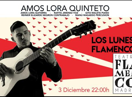 Amós Lora en el Teatro Flamenco Madrid