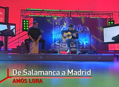 Amós Lora en DIRECTO EN La2 de TVE.