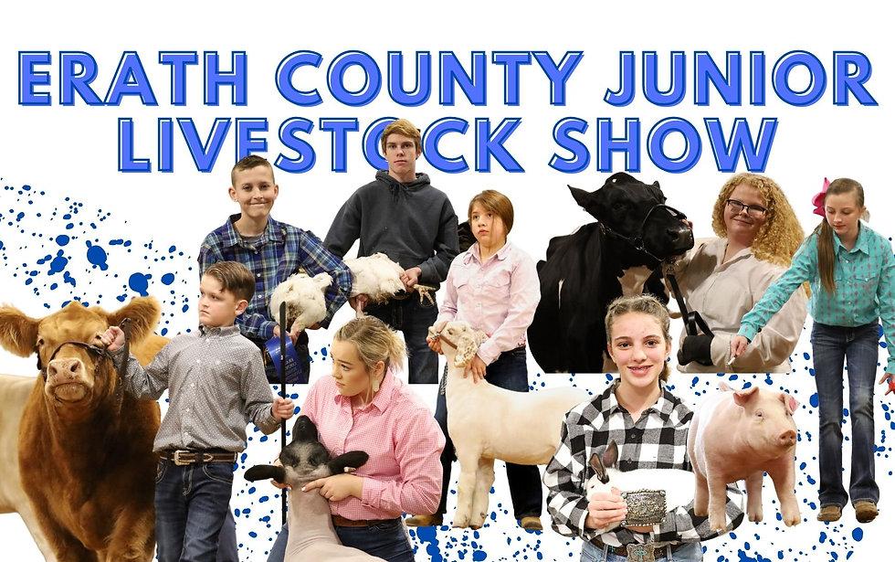 Copy of Erath Junior Livestock Show Flye