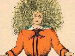 Síndrome dos cabelos impenteáveis!?