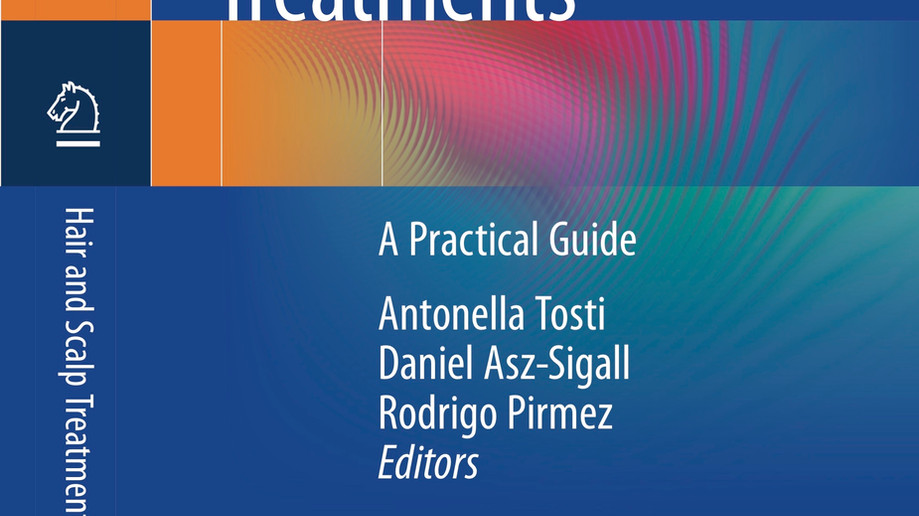 Doutor Rodrigo Pirmez lança livro sobre alopecias