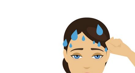 Suor excessivo no couro cabeludo? Botox pode ajudar.